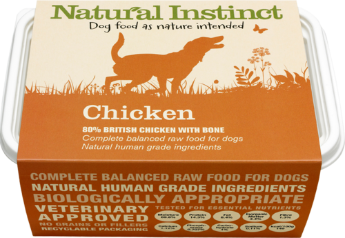 Natural Instinct: Natural Chicken Dog Food