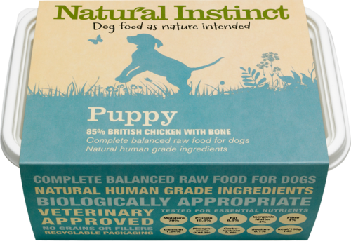 Natural Instinct: Natural Puppy Food
