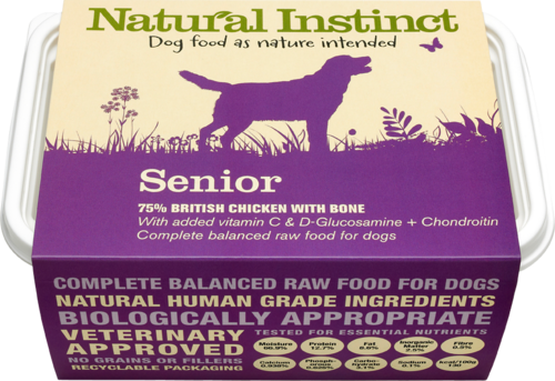 Natural Instinct: Natural Senior Dog Food