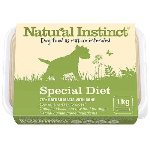 Natural Instinct: Natural Special Diet Dog Food *Collection Only*