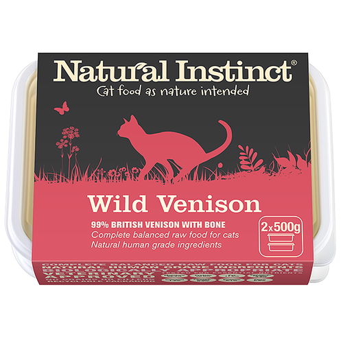 Natural Instinct: Venison (Limited) *Collection Only*
