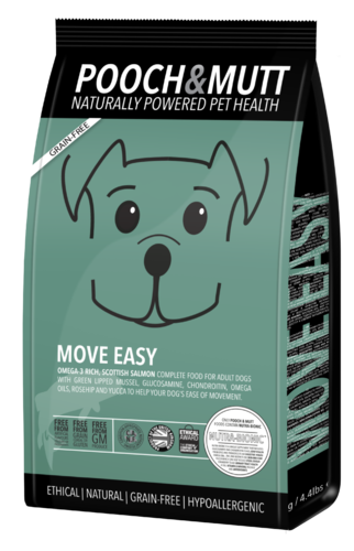 Pooch & Mutt - Move Easy complete grain-free Dog Food