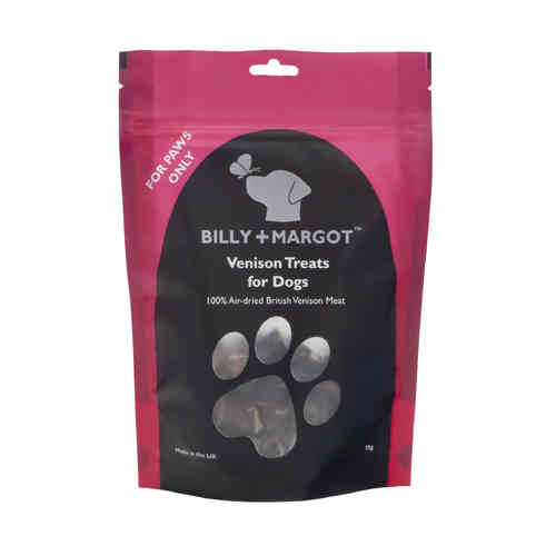 Billy + Margot Venison Treats for Dogs