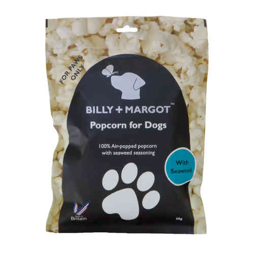 Billy + Margot Popcorn with Seaweed for Dogs