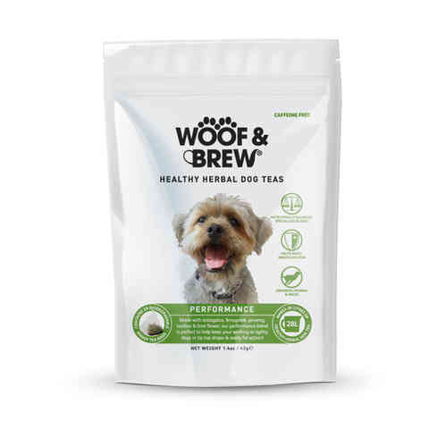Woof & Brew Herbal Dog Tea - Performance Blend