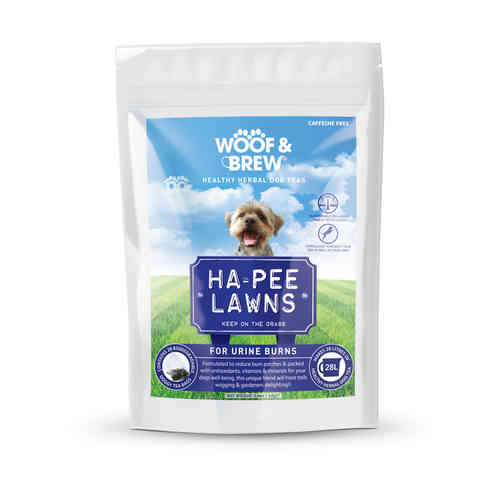 Woof & Brew Herbal Dog Tea - Ha-Pee Lawns Blend