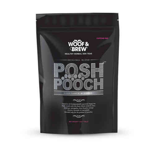 Woof & Brew Herbal Dog Tea - Posh Pooch Blend