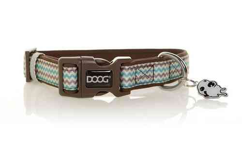 DOOG Benji Dog Collar (Chevrons)