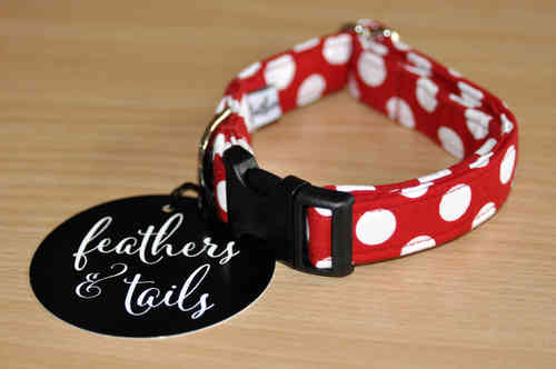 Feathers & Tails - Minnie Dog Collar
