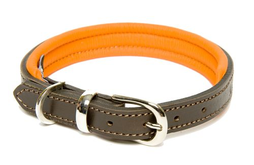 D&H Contemporary Colours Leather Collar