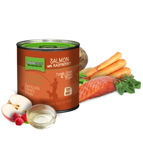 Natures Menu Country Hunter Cans - Salmon with Chicken