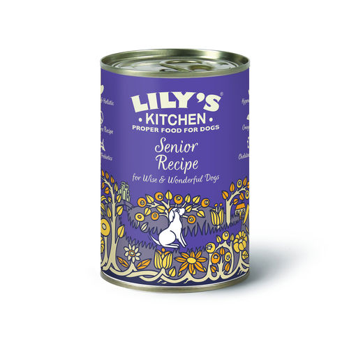 Lily's Kitchen:  Senior Recipe for Older Dogs Tin Food