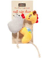 Danish Design - Gracie and Millie Catnip Duo Toys