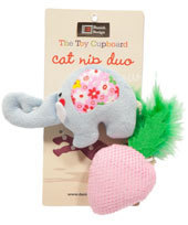 Danish Design - Nelly and Strawberry Catnip Duo Toys