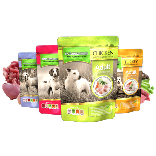 Natures Menu - Multipack Complete Pouches for Dog