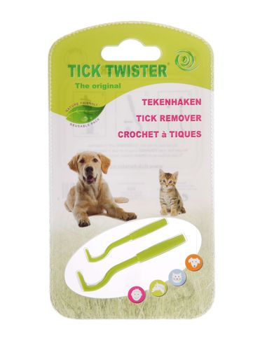 O'tom Tick Twister Assorted Colours 2pk