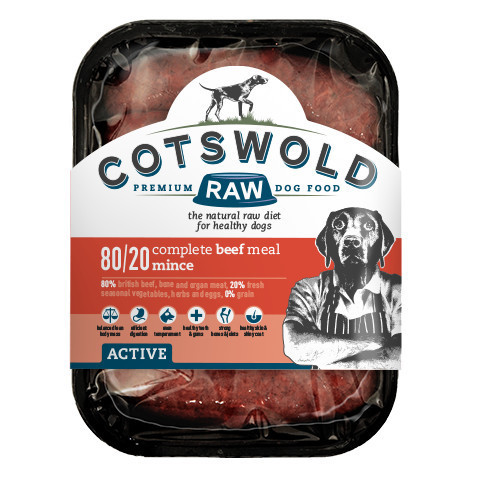 Cotswold Raw Beef Mince - 80/20 ACTIVE *Collection Only*