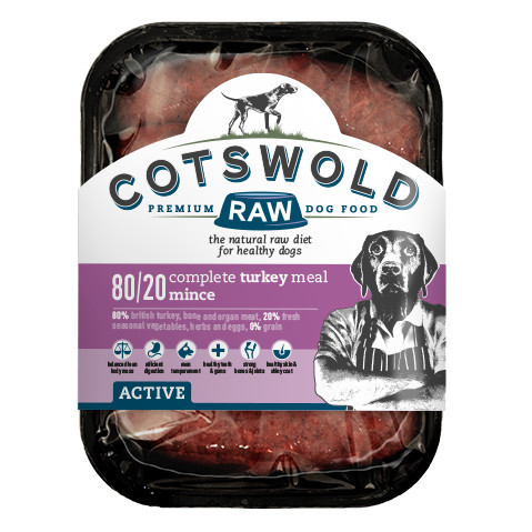 Cotswold Raw Turkey Mince - 80/20 ACTIVE *Collection Only*