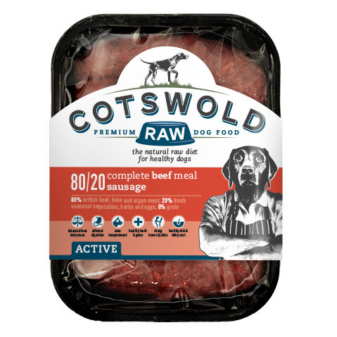 Cotswold Raw Beef Sausages - 80/20 ACTIVE