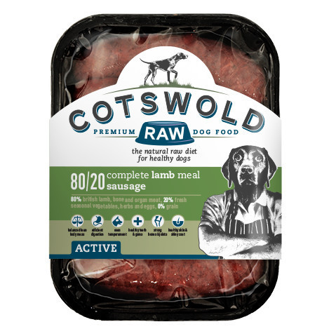Cotswold Raw Lamb Sausages - 80/20 ACTIVE