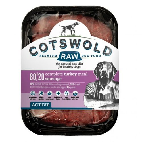 Cotswold Raw Turkey Sausages - 80/20 ACTIVE