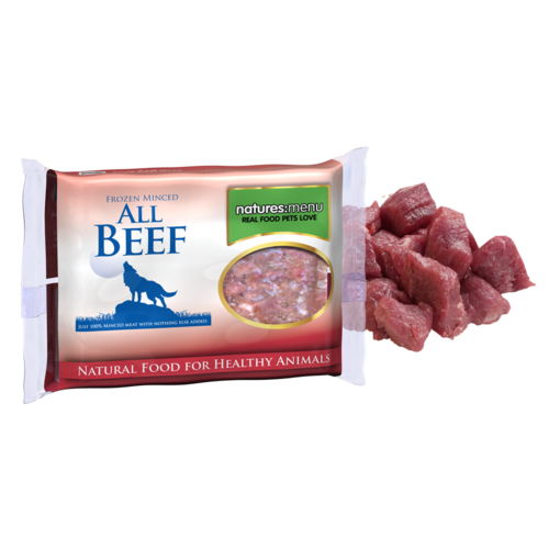 Natures Menu All Beef Mince for Dogs