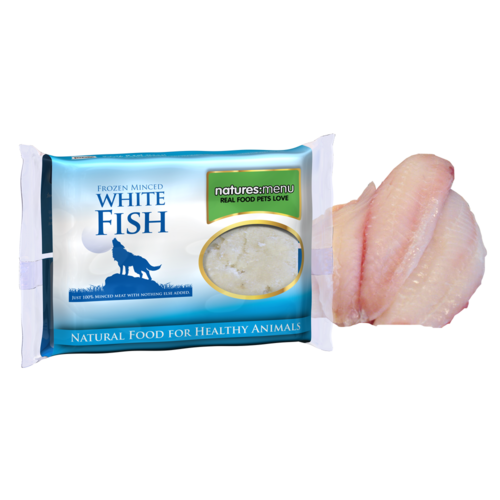 Natures Menu Just White Fish Mince for Dogs