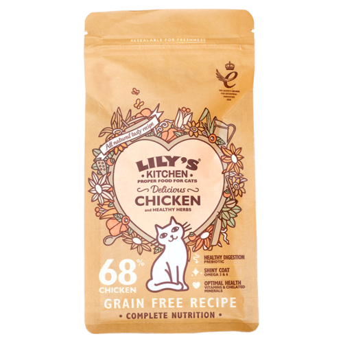 Lily's Kitchen: Delicious Chicken Complete Dry Food for Cats