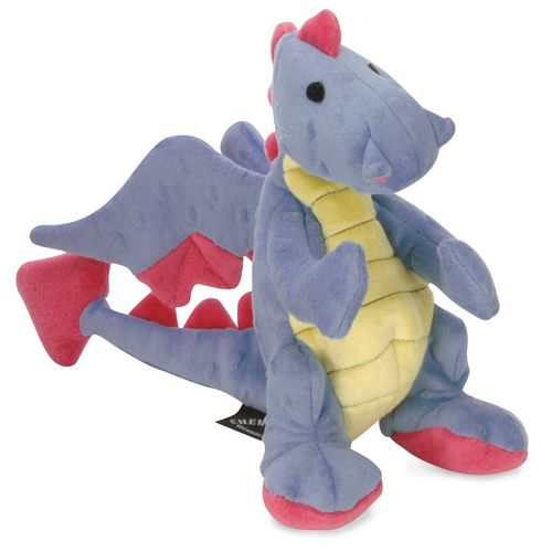 Periwinkle Dragon Squeaky Dog Toy