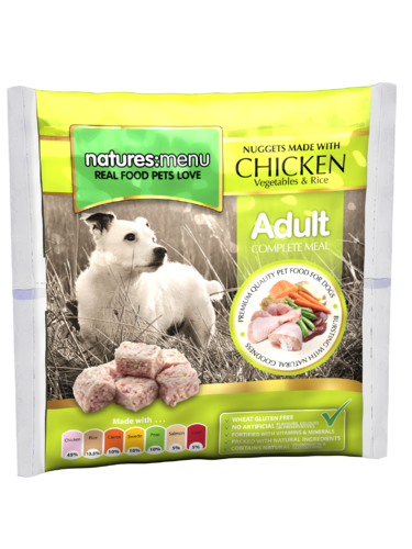 Natures Menu Chicken Nuggets for Dogs