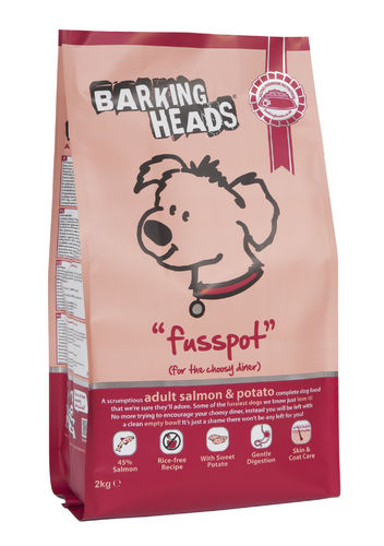 Barking Heads - Adult Fusspot Dog Food 12kg