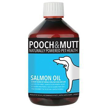 Pooch & Mutt Salmon Oil 500ml