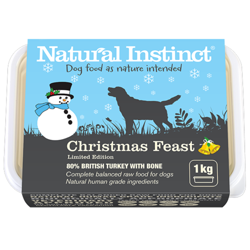 Natural Instinct: Christmas Feast Dog Food