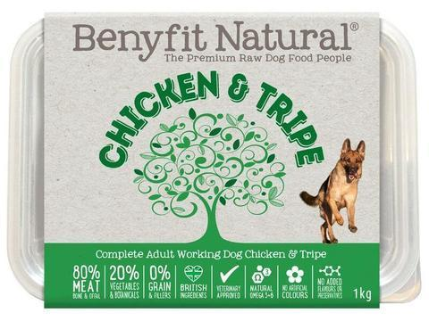 Benyfit Natural - Chicken & Tripe *Collection Only*