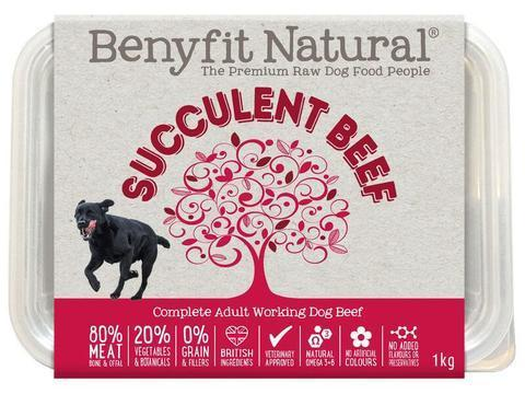 Benyfit Natural - Succulent Beef *Collection Only*