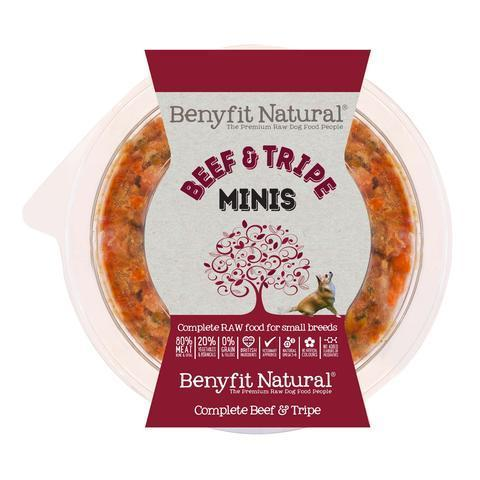 Benyfit Natural - Mini Beef & Tripe