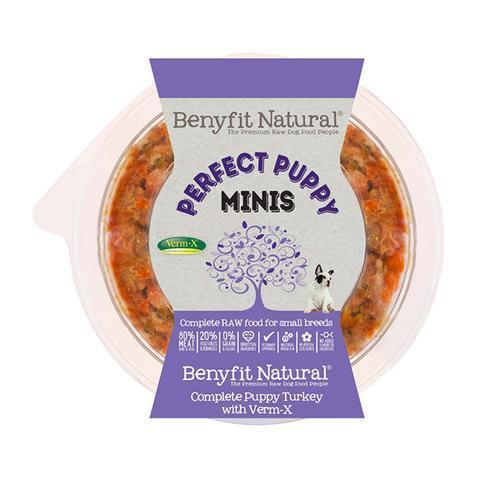 Benyfit Natural - Mini Perfect Puppy Turkey