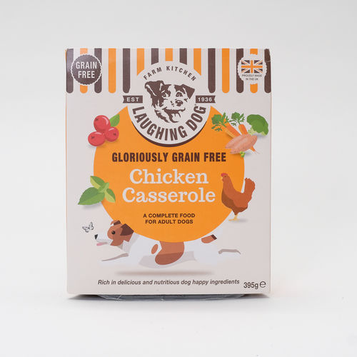 Laughing Dog Gloriously Grain Free Chicken Casserole 395g