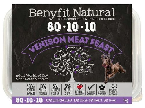 Benyfit Natural - Meat Feast Venison *Collection Only*