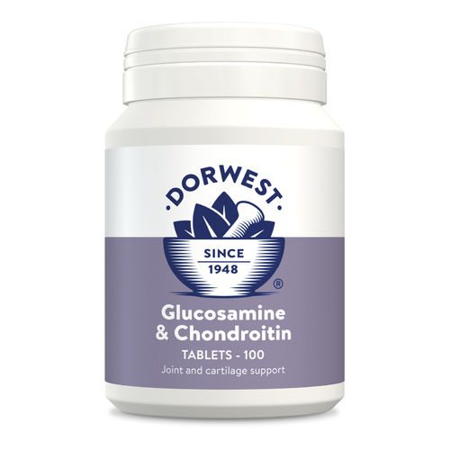 Dorwest Herbs Glucosamine & Chondroitin Tablets for Dogs