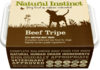 Natural Instinct: Natural Beef Tripe Dog Food *Collection Only*