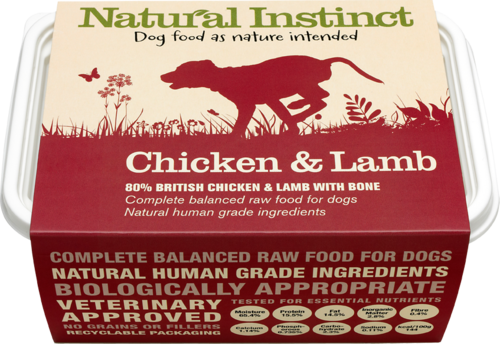 Natural Instinct: Natural Chicken & Lamb Dog Food *Collection Only*