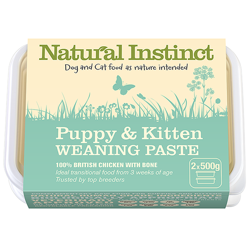 Natural Instinct: Puppy & Kitten Weaning Paste *Collection Only*