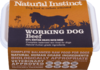 Natural Instinct: Working Dog Beef Food *Collection Only*