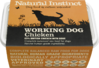 Natural Instinct: Working Dog Chicken Food *Collection Only*