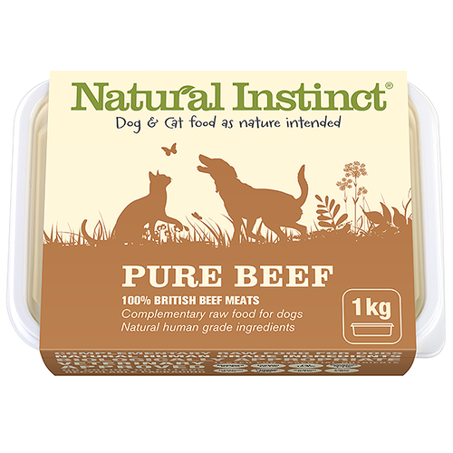 Natural Instinct: Pure Beef Food