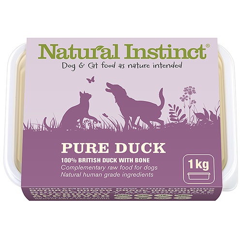 Natural Instinct: Pure Duck Food