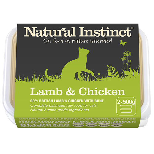 Natural Instinct: Lamb & Chicken Cat Food *Collection Only*