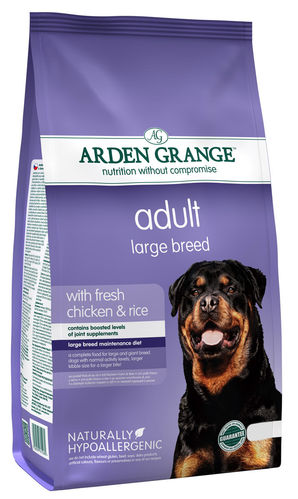 Arden Grange Adult: Large Breed Fresh Chicken & Rice Dog Food
