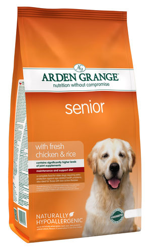 Arden Grange Senior:  Chicken & Rice Dog Food